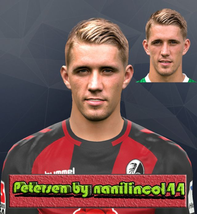 PES 2017 Nils Petersen (SC Freiburg) Face by nanilincol44