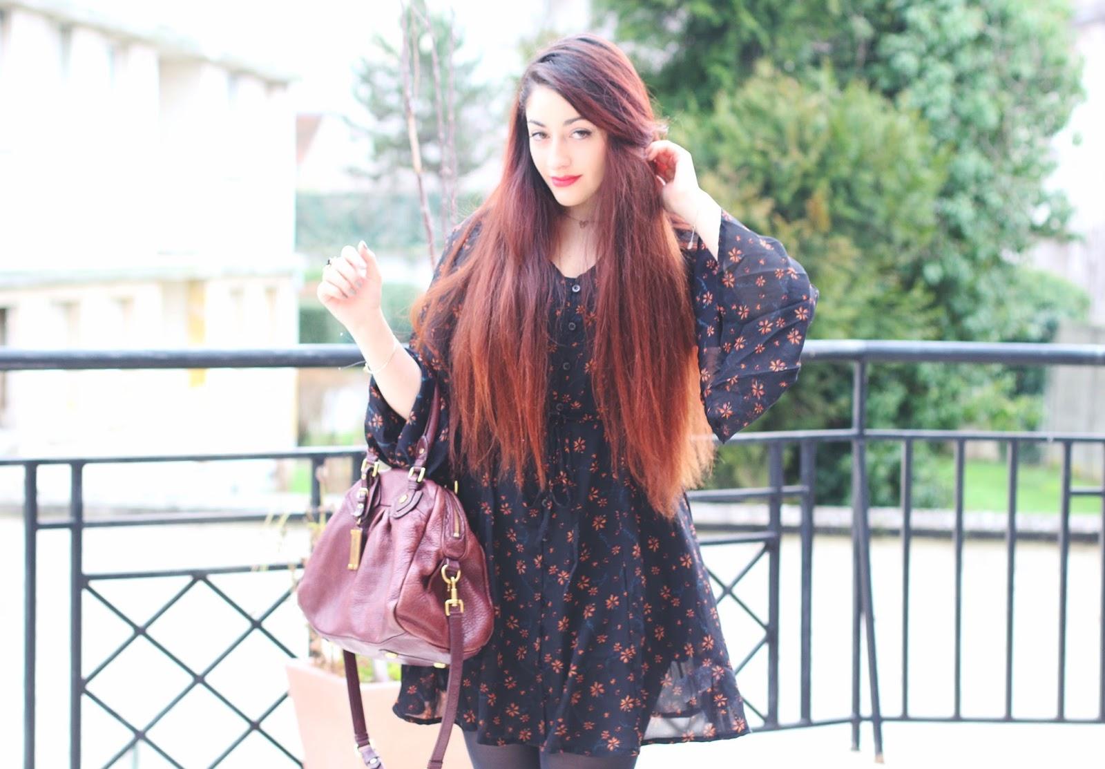 robe à fleurs asos