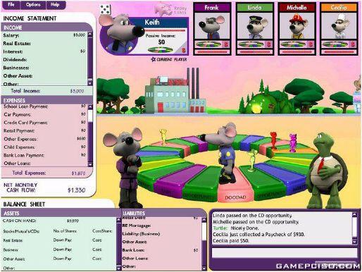 Download game cashflow 101.