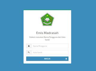 tampilan emis_madrasah