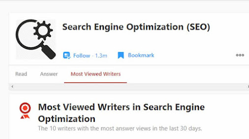the best steps to become the most viewed writers in topic SEO