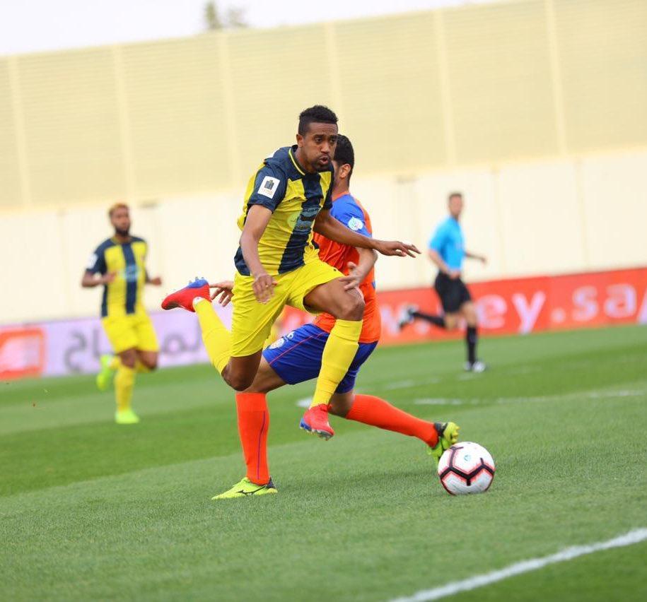 نتيجة مباراة الحزم والفيحاء بتاريخ 07-02-2020 الدوري السعودي