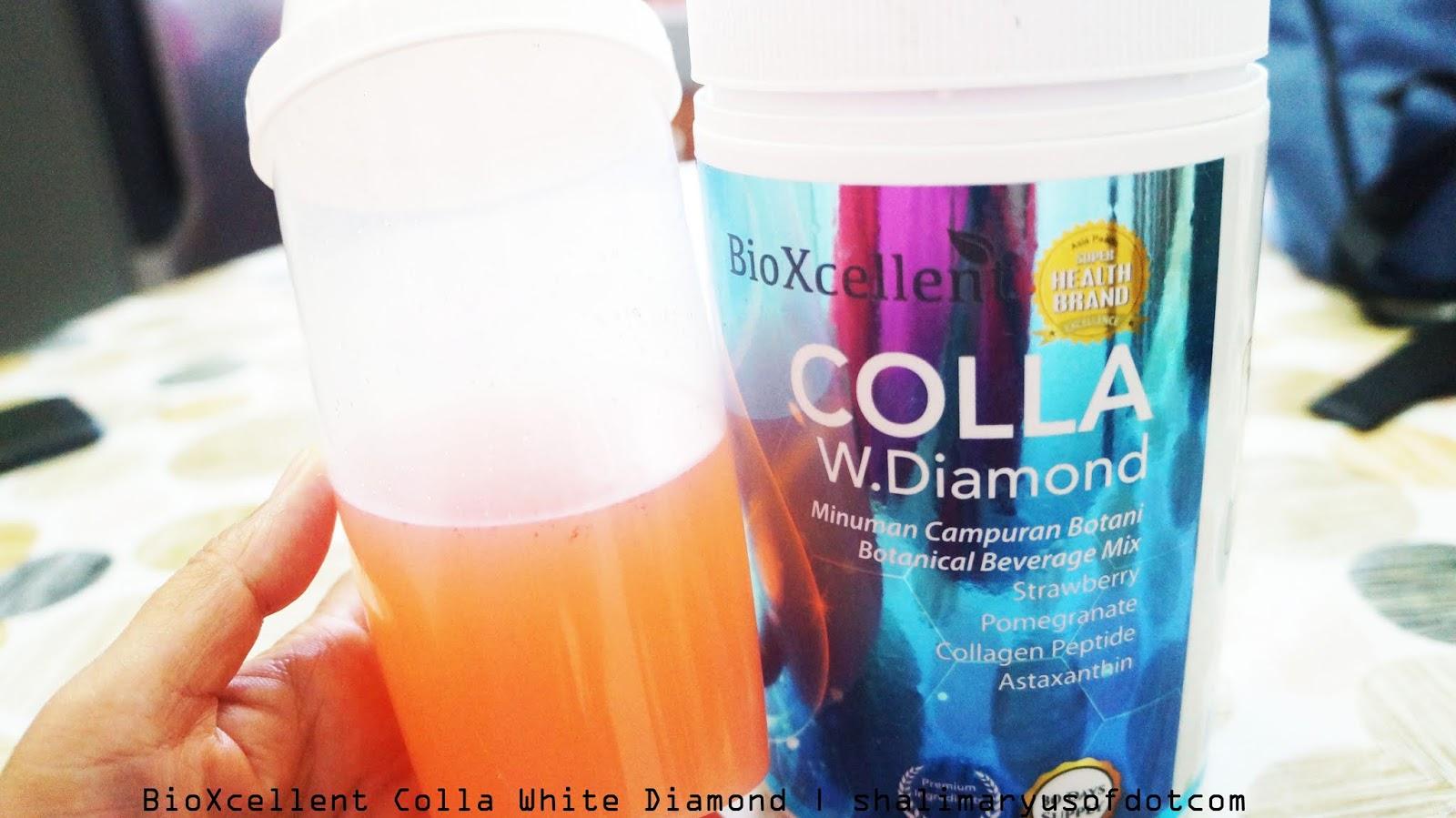 Rahsia Kulit Lebih Sihat Dengan BioXcellent Colla White Diamond
