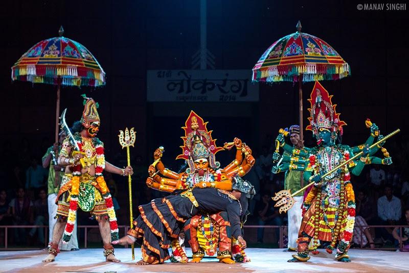 Kaliyattam Folk Dance from Tamil Nadu.