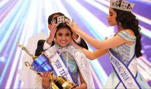 सुष्मिता ने जीता MISS TEEN WORLD 2019 का ख़िताब..