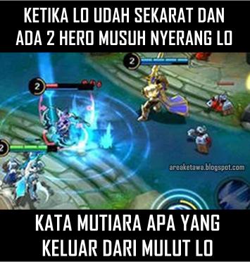 8 Gambar Meme Lucu Mobile Legends Terbaru - Area Ketawa