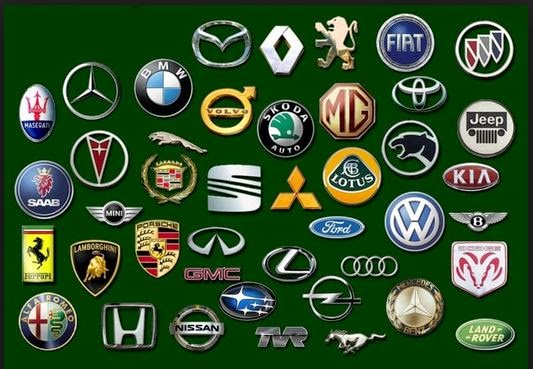 Awesome Cars Logos