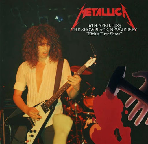 Metallica at The Showplace 1983 ad
