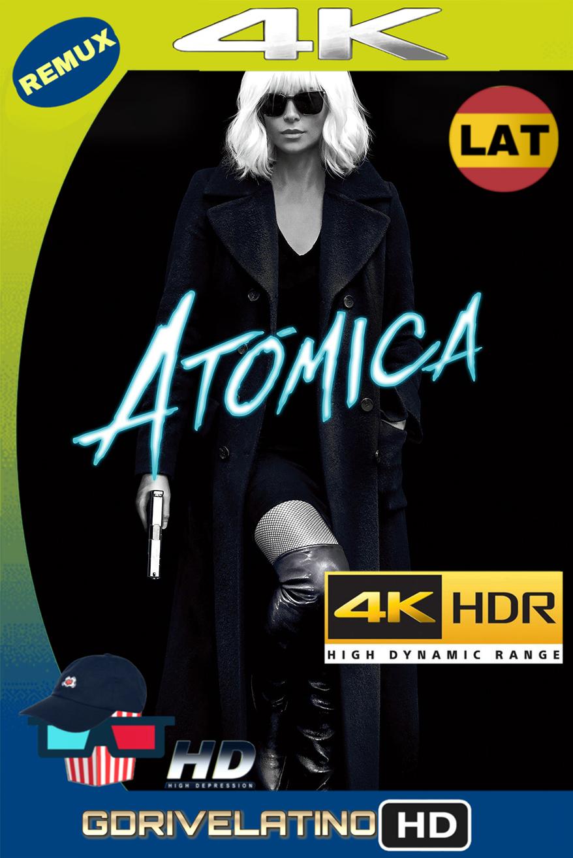 Atómica (2017) REMUX 4K HDR (Latino-Inglés) MKV