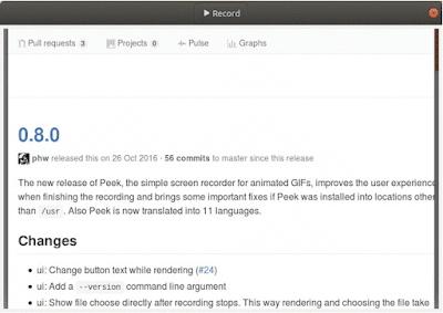 aplikasi perekam layar ubuntu