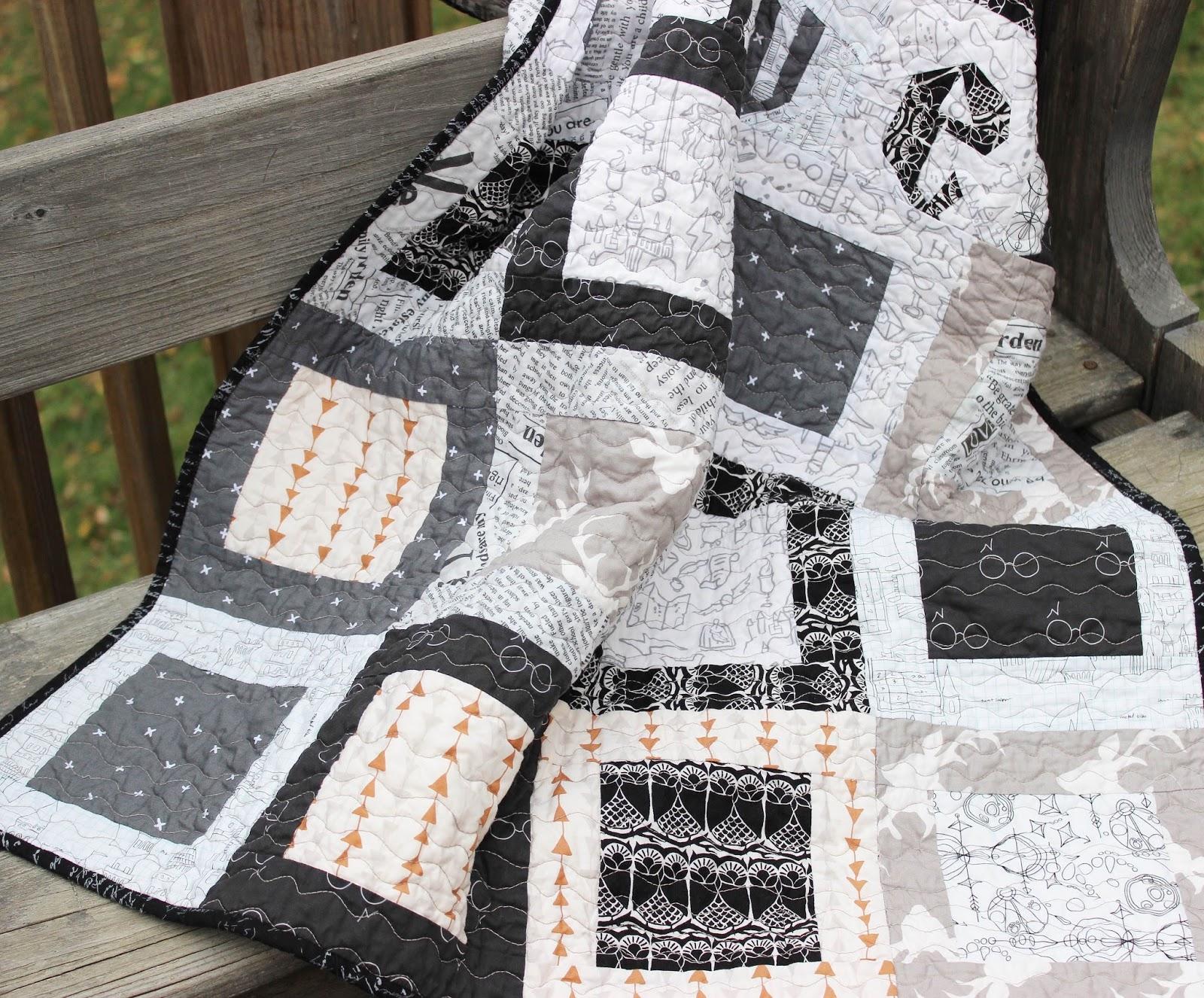 Harry Potter Baby Quilt Hilltop Custom Designs