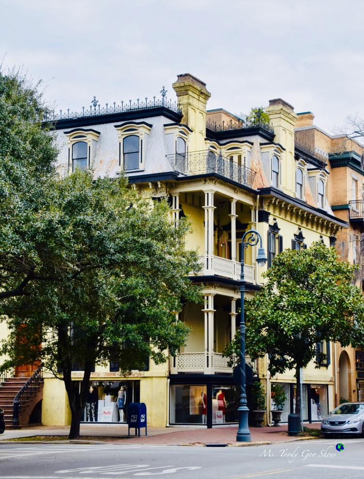 There's something interesting to see on almost every street corner in Savannah, GA | Ms. Toody Goo Shoes
