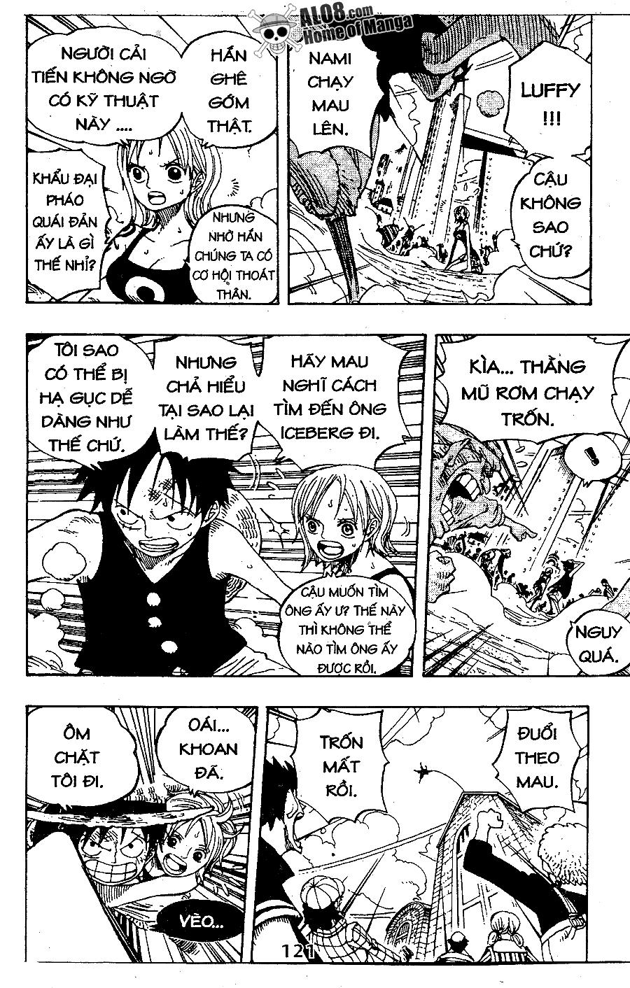 One Piece Chap 338