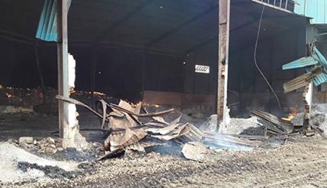 Hé lộ manh mối vụ cháy kho trị giá hàng trăm tỷ tại Gia Lai