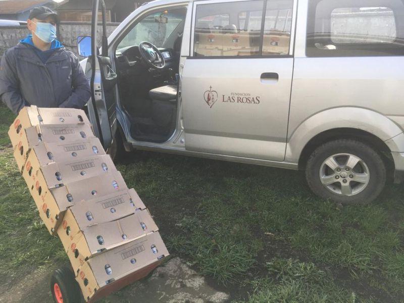 Club de Leones Osorno realiza gran donación a hogares