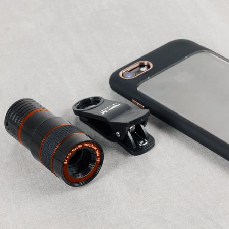 Concours : un téléobjectif KSIX Clip and Zoom 8X pour smartphone à gagner !