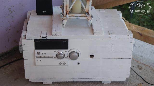 Radio ze skrzyni