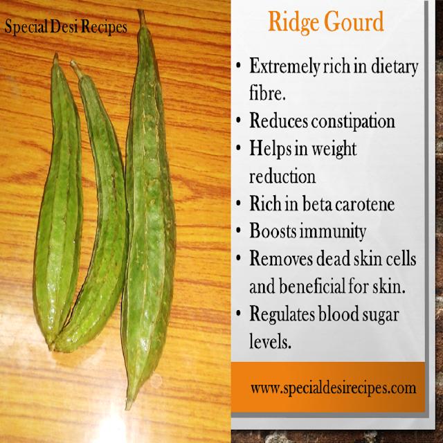 ridge gourd benefits