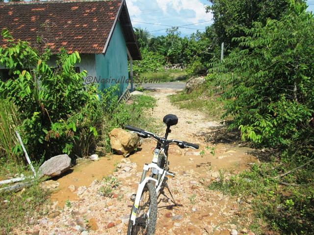 Akses menuju Bukit Love Karimunjawa