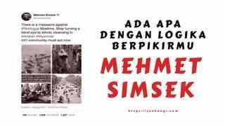 Ada Apa Dengan Logika Berpikirmu Mehmet Simsek?