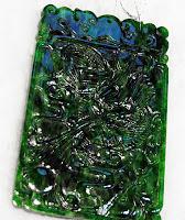 imperial jadeite pendant