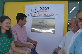 Prefeitura de Cacimbinhas Inaugura biblioteca.