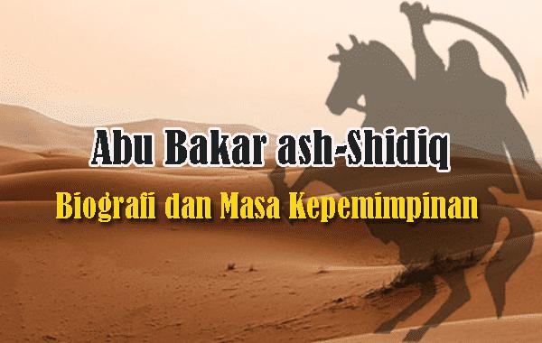 Biografi Abu Bakar