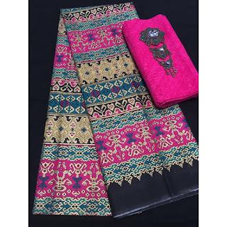 Kain Batik Primis dan Embos 271 pink