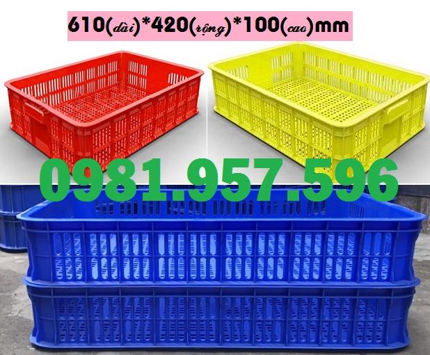 Sọt nhựa dùng cho siêu thị, sọt nhựa đựng rau củ, sọt nhựa trưng bày hàng hóa