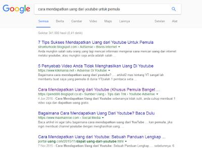 Tips Cara Membuat Artikel Blog Halaman 1 Google Pada Persaingan Tinggi