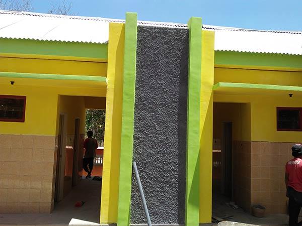 Hasil akhir pengerjaan pembangunan fisik Kamar Mandi / WC
