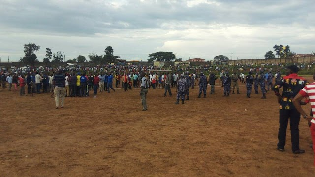 Bullets and teargas as chaos disrupts soccer match in Mbale