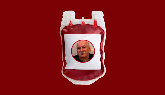 Professor Da Mata precisa da doação de sangue