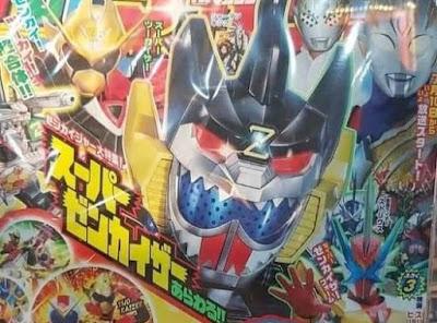 Televi Magazine Cover Reveals New Zenkaiger & Kamen Rider Saber Super Forms