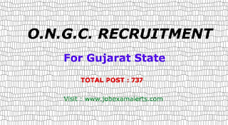 Ongc Recruitment : For Gujarat State