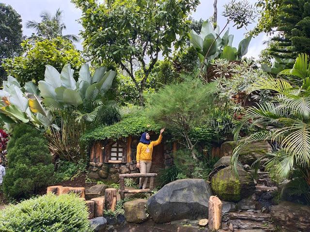 Tempat Wisata Banyu Mili Wonosalam