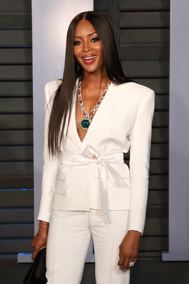 Naomi Campbell among the 10 Most Beautiful and Famous British Models