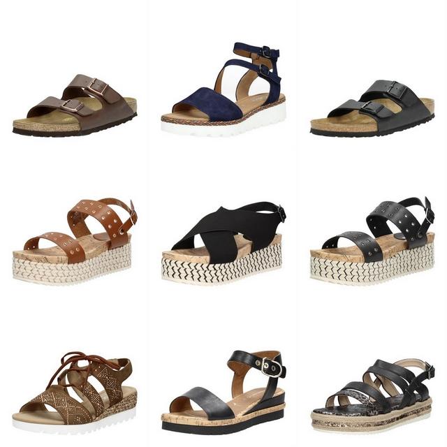 Shop tip comfortabele sandalen en slippers zomerschoenen plateauzool bandjes birkenstock visions mode blog inspiratie