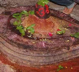 Shivlinga at AsirGarh Fort