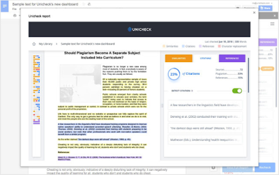 Instant Plagiarism Check Add-on for Google Docs from Unicheck | Educational Technology and Mobile Learning