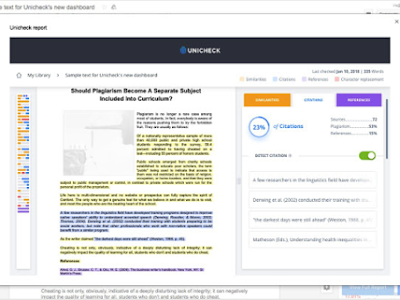 Here Is a Very Good Plagiarism Checker to Use on Google Docs