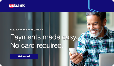 U.S. Bank Instant Card