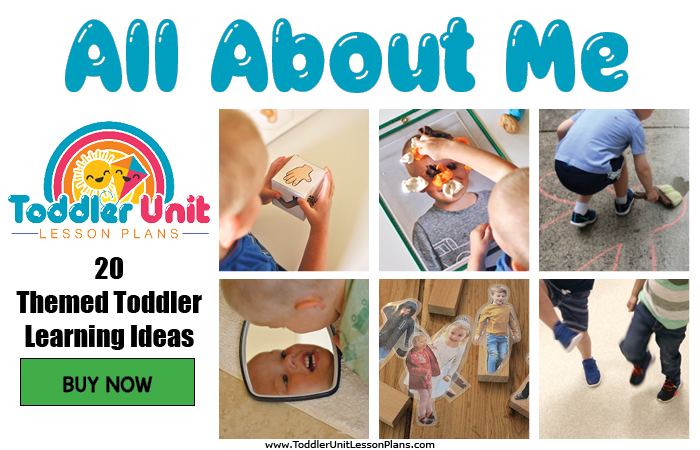 Toddler lesson plans - all about me