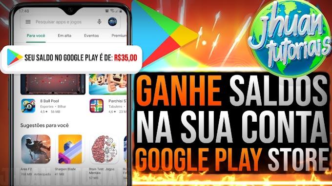 Como ganhar créditos na Google Play Store 2020