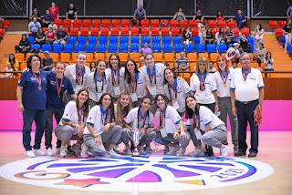 Συγχαρητήρια στην Εθνική νέων γυναικών για την αήττητη κατάκτηση του ομίλου U20 της FIBA  στο Ερεβάν !