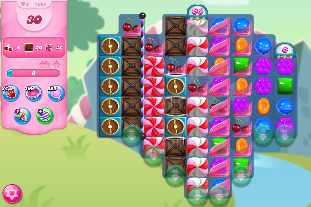 Candy Crush Saga level 7852