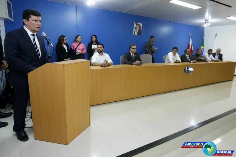 Metas são reforçadas com visita do ministro da Justiça e Segurança Sérgio Moro no Pará