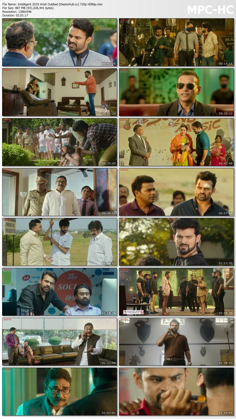 Intelligent 2019 Hindi Dubbed 480p HDRip 350MB Desirehub