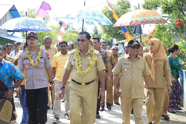 Edi Langkara dan Abdul Rahim Odeyani Kunjungi Warga Fritu