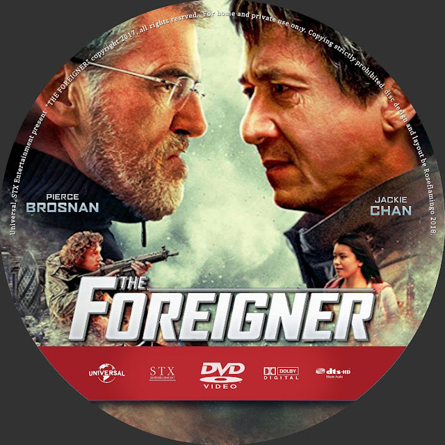 The Foreigner DVD Label